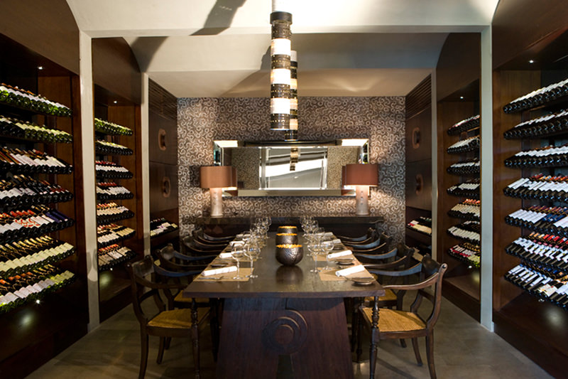 Dine & Wine Bali Restaurant Guide Metis Restaurant & Gallery Bali French Cuisine Seminyak Private Wine Cellar