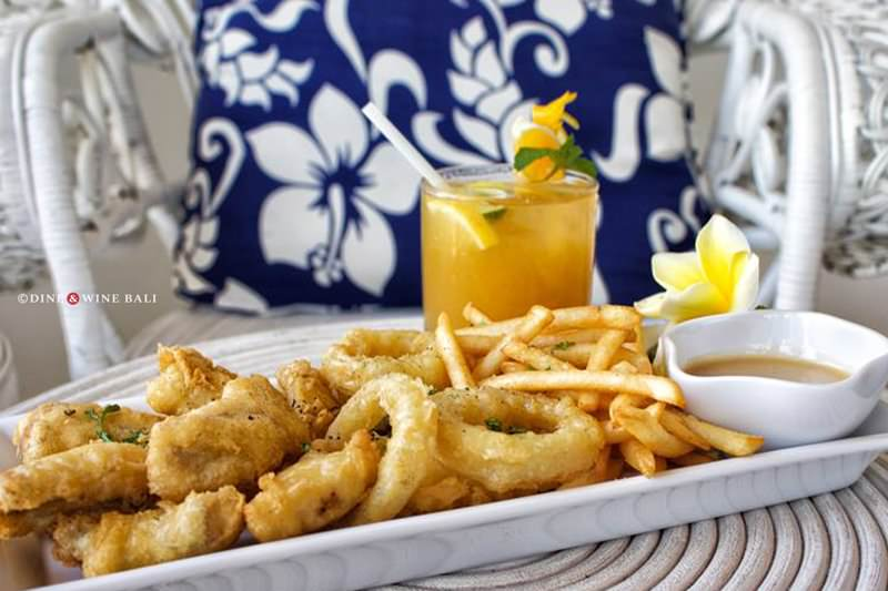 Dine & Wine Bali Restaurant Guide Mai Tai Bali Tahitian Cuisine Canggu Batu Bolong Fish and Chips