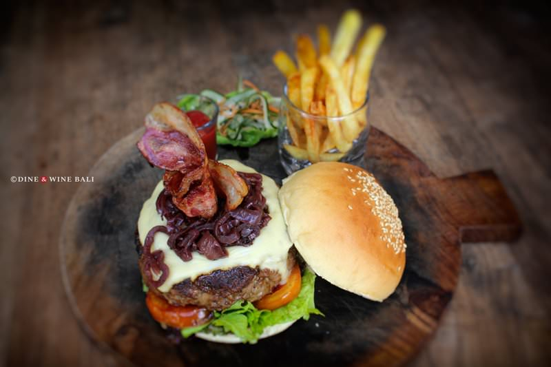 Dine & Wine Bali Restaurant Guide Casablanca Sanur International Indonesian Boss Burger