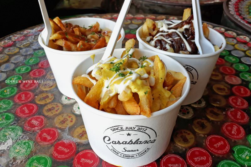 Dine & Wine Bali Restaurant Guide Casablanca Sanur International Indonesian La Poutine