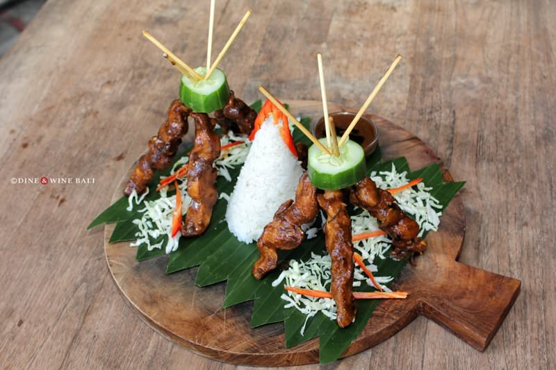 Dine & Wine Bali Restaurant Guide Casablanca Sanur International Indonesian Chicken Sate