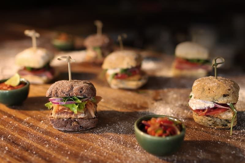 Dine & Wine Bali Restaurant Guide Spice by Chris Salans Indonesian Fusion International Ubud Sliders