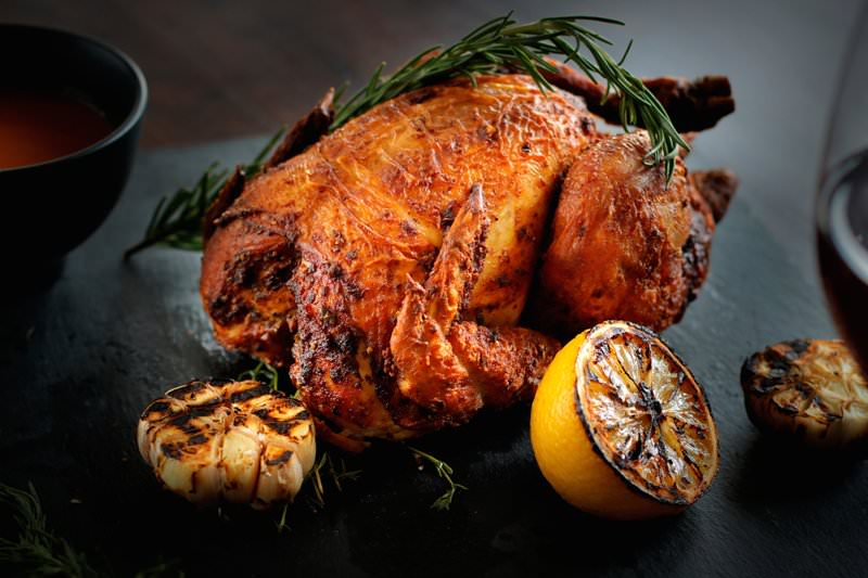 Dine & Wine Bali Restaurant & Culinary Guide Gourmet Shop Bali Catering Company Seminyak Roast Chicken